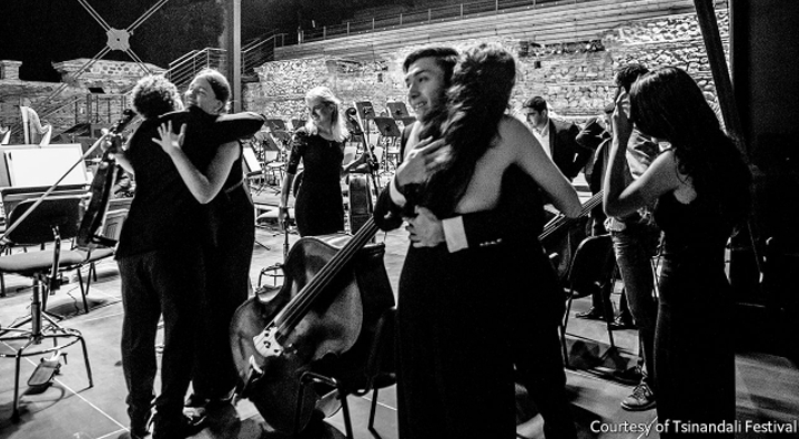 A new orchestra seeks harmony in the Caucasus