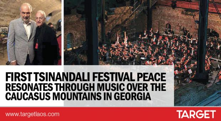 FIRST TSINANDALI FESTIVAL PEACE RESONATES THROUGH MUSIC OVER  THE  CAUCASUS MOUNTAINS IN GEORGIA